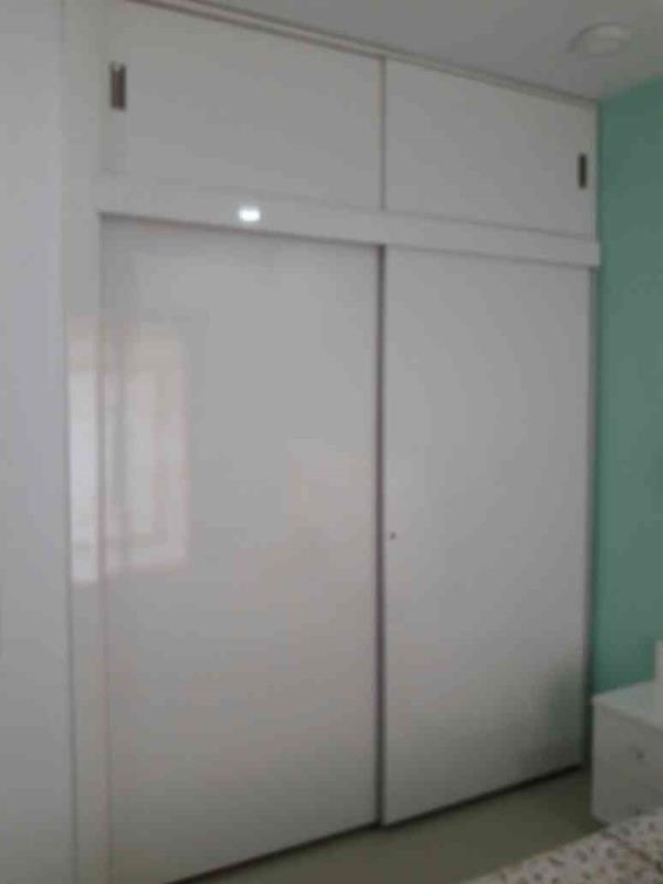Custom Made Wardrobe From Xena Design . 100 % Customised Furniture Within Budget From Xena Design Sliding Door Wardrobe With Top line 1 Fitting From Hettich Made By Xena Design - by Xena Design, Thane