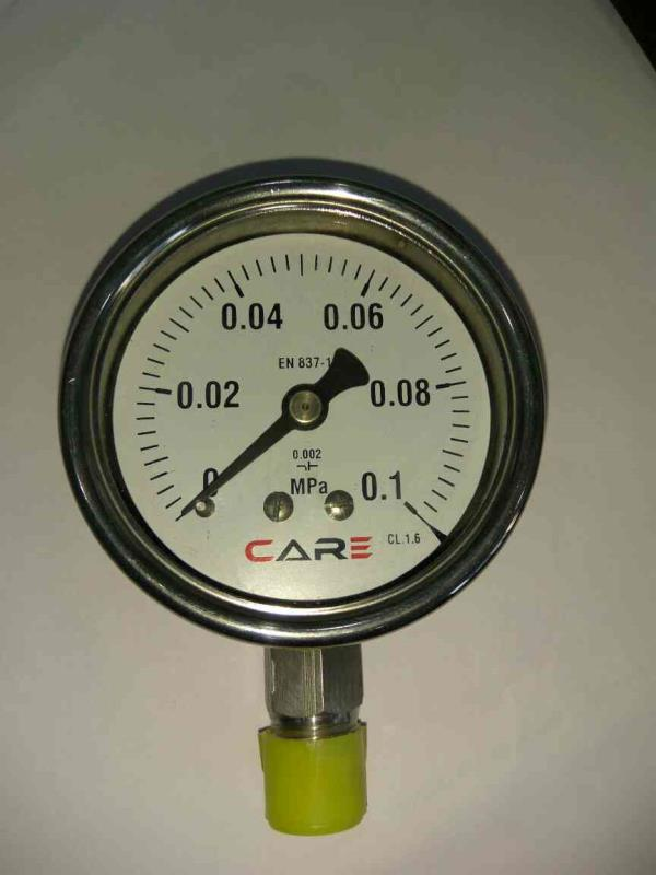 Manufacturing of pressure gauge, All Ss industrial type pressure gauges, construction of Stainless Steel  - by Care Process Instrument, Ahmedabad