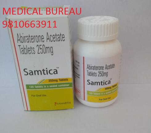 Samtica ( Abiraterone Acetate Tablet ) Big Exporter In India Best Prices Available Contact-Medical Bureau                    +91-9810663911 - by Medical Bureau, New Delhi