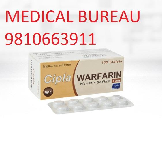 Warfarin Big Dealers In India Best Prices Available Contact-Medical Bureau                   +91-9810663911 - by Medical Bureau, New Delhi