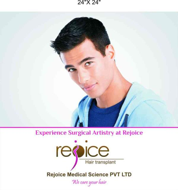 best result clinic for transplant -rejoice - by Rejoice Hair Transplant, Mumbai