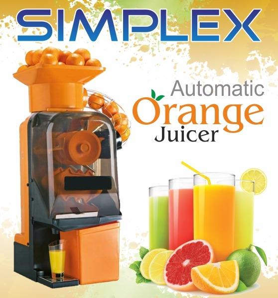 Automatic Orange Juicer  High speed cold press juicer for all type of citrus fruit.