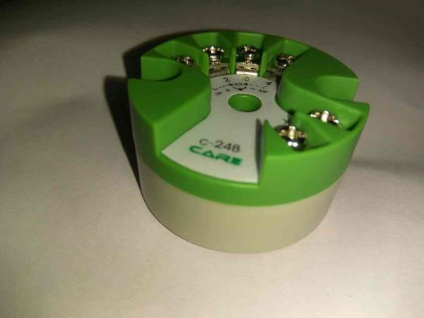 We are manufacturer of head mount Temperature Transmitter with Universal Input and 4-20mA signal output.   - by Care Process Instrument, Ahmedabad