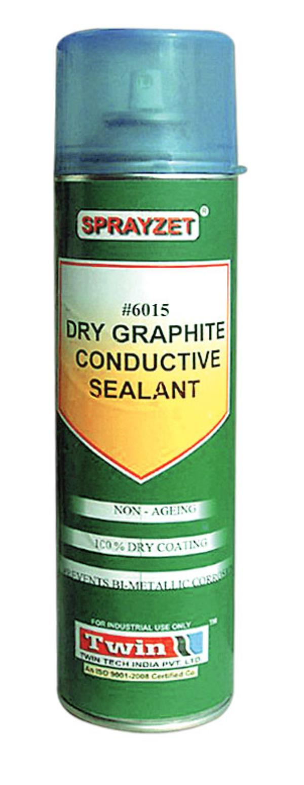 We are manufacturing company of Industrial Maintenance Aerosols, Aerosol Spray, Industrial Aerosol in Ghaziabad India.  for more details you can visit www.twinindia.com or contact us on +91 9310052700   #6015 DRY GRAPHITE CONDUCTIVE SEALANT - by Twin Tech India Pvt Ltd @ 9310052700, Ghaziabad