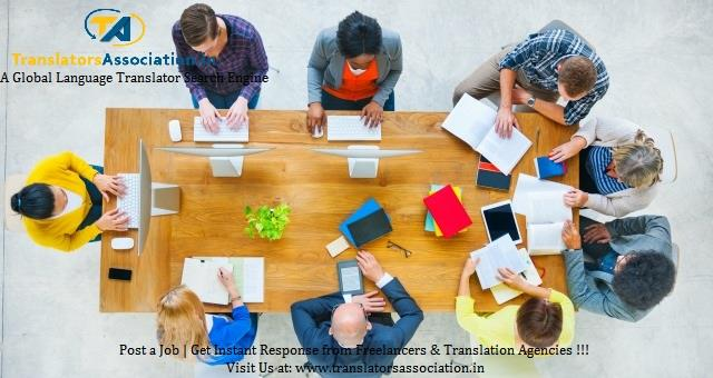 French Translation in Delhi  Provide a Global Translators Search Engine, where you can post any of your translation requirements for FREE to get Instant response from the Native Freelancers and Translation Companies.  Post your Translation  - by TranslatorsAssociation.in, Delhi