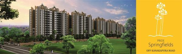 Apartments in Bangalore South  Life has to be more than a mere existence from one day to another. The living environment should be nurturing and existing, offering the inspiration to reach for the skies, that's the philosophy at pride Sprin - by PRIDE SPRINGFIELDS, BENGALURU, Bangalore