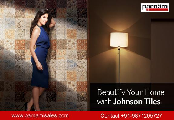 Johnson tiles in Faridabad  Transform your spaces.  with the widest range of wall tiles, floor tiles, external facade, swimming pools, roof top, high traffic area and industrial area.  Visit at our showroom: Parnami Sales Corporation,  Show - by Parnami Sales Corporation, Faridabad