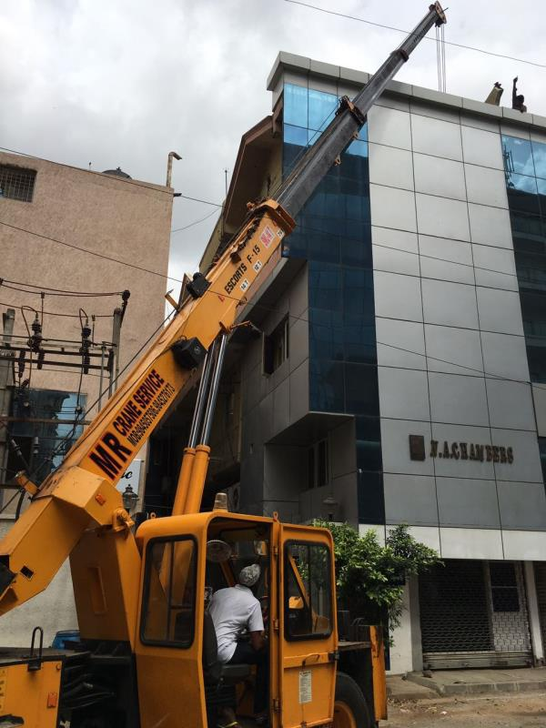 Crane service in bangalore We are Provide material handling needs This includes ALL TERRAIN CRANES HYDRAULIC CRANES TELESCOPIC CRANES CRAWLER CRANE  FORKLIFTS