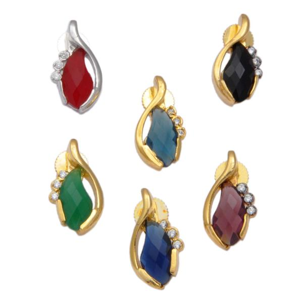 This top's are made by color glass stone CZ and gold work.we are Exporter This Top's.