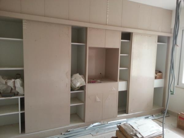 cupboards / wardrobes  Wardrobe - A key component in the design of any master bedroom layout is the inclusion of a cupboard for your clothing. Once freestanding pieces of furniture that could be moved anywhere within the room, they now form - by Pastiche Homes LLP, Bangalore