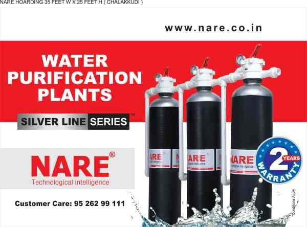 Search Google for Nare Water. you will find the No.1 Water Purification Company in Ernakulam that provides Total Water Treatment Solutions for your Home and Industry.  nare.co.in waret.co.in  www.nare.co.in.  www.waret.co.in