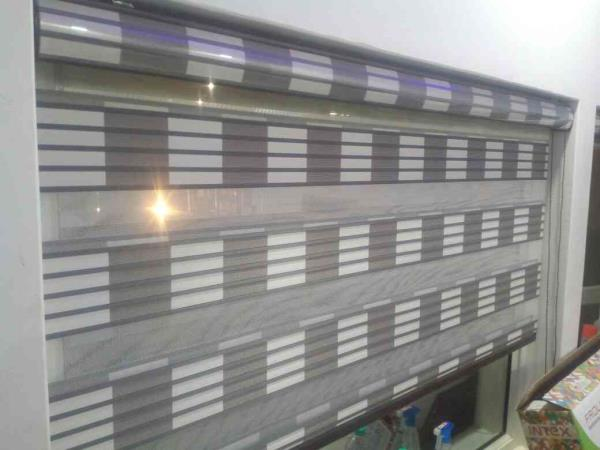 Zebra Blinds Dealer In Delhi   One of the classic type of blinds for residential and for interior designers.