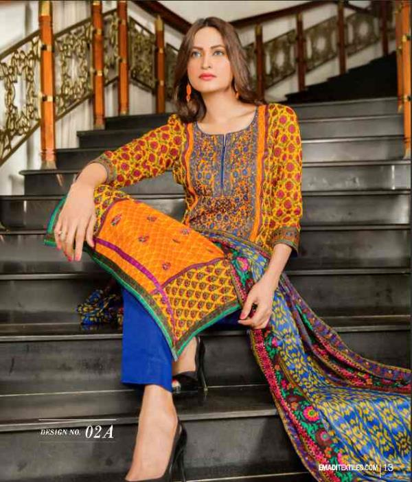 soft Embroidered Mtf lawn at fazeels fashion house