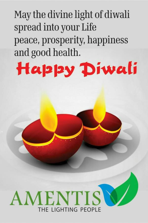 Amentis light wishes everyone a very happy and prosperous diwali.