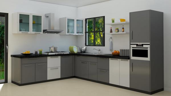 Dream Kitchen interior in Nanganallur, Chennai. We are the best Modular Kitchen Designer in Tambaram.