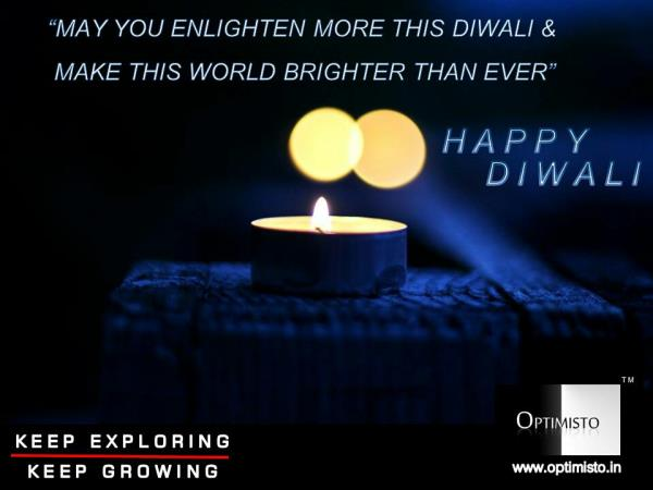 Personal Development Tip by Optimisto  May you enlighten more this Diwali and make this world brighter than ever.  Personal Development & Professional Development Program in Delhi