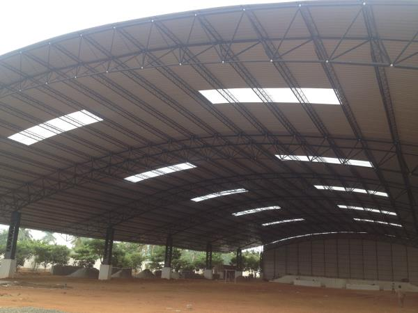 Roofing Contractors in Coimbatore   We are the manufacture of steel Pre Engineering Building, Space frame, Ware House and industrial Building, In All Over South We Provided the best service such as Design, fabrication, supply and installation of Pre Engineered Steel Building, In All Over South India