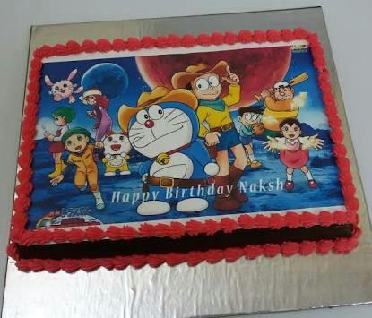 photo cake children loved it