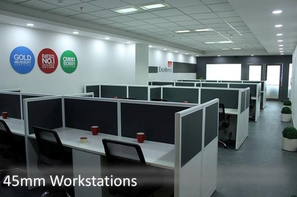 45mm workstations Delhi  Office Work Stations Available in India ...Niveeta is a market leader and supplier of modular office systems in India ... Their modular, office workstations include smart storage solutions, integrated partitions and decorative detailing.  visit www.niveeta.com  call 991122763