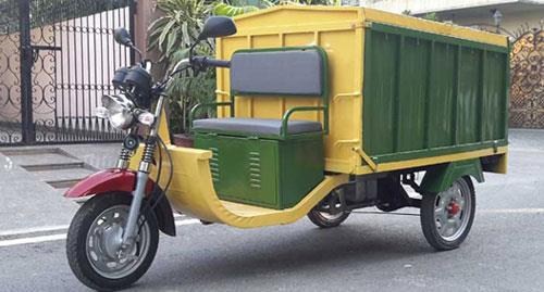 Save Electric Vehicle is the Leading Venture and Exporter of Battery Operated Garbage Van based in Ahmedabad  For Details  www.cmoverseas.com