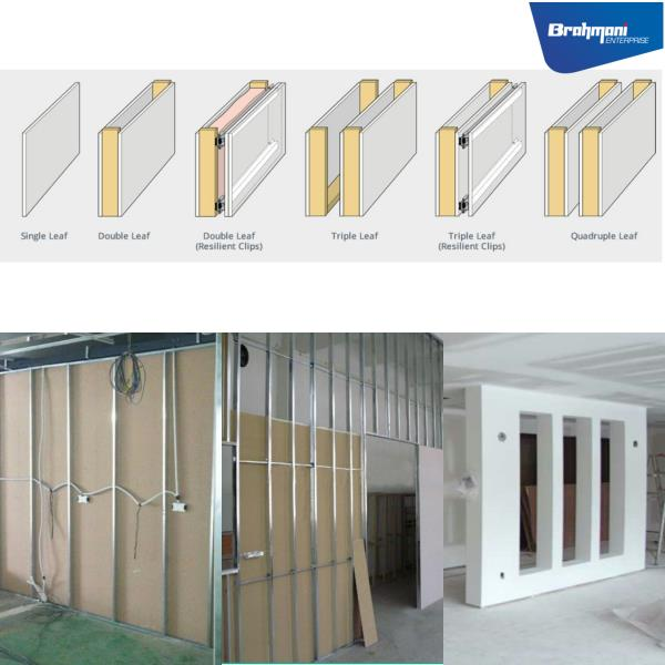 DRYWALL PARTITION Brahmani Enterprise is a Leading Constructor of DRYWALL PARTITION in Ahmednagar , Maharashtra.