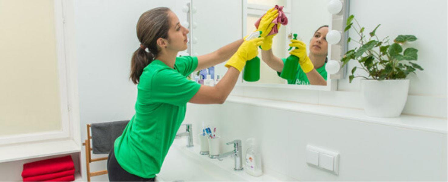 rvices in mumbaiBathroom Cleaning ServiceWe comprehensively clean your bathrooms using powerful cleaning agents that will leave your bathroom looking bright and clean.Toilets, Washbasin & Tub will be cleaned thoroughlyBuffing and Sanitizing of the toilet, sink , tub, showerDeep Cleaning – Cleaning of Windows, Showers, Taps and Exhaust FanManual Scrubbing – Floor and Tile will be Manually Scrubbed.Glass Treatment - Mirror and glass will be cleaned.General Cleaning - Cobweb Removal, Dry Dusting of walls and ceilings.