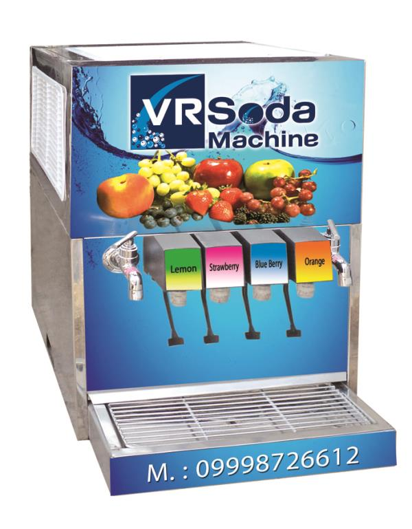we are  manufacturer of any kind soda machine in ahmedabad gujarat india.