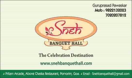 Best Party Hall in North Goa - by Chaska Hospitality, Porvorim