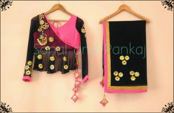 And we are up with our website https://sonalandpankaj.com You can shop all our designs directly from website   Thank u for love and appreciation  Regards,  Sonal and Pankaj - by Designer Blouses - By Sonal, Indore