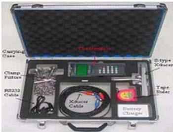 portable ultrasonic flow meter manufacturer from Hyderabad, India.   creative engineers are manufacturer of portable ultrasonic flow meters from Hyderabad, India   Creative Engineers are service provider for the flow measurements on site.   portable ultrasonic flow meters have wide range of flow measurement from 0.01 m/s to 32 m/s.   portable ultra sonic flow meters are suitable for all commonly used pipe materials. portable ultrasonic flow meters have easy and economical installation process.   creative engineers are supplier and exporters of portable ultrasonic flow meters from Hyderabad, India.