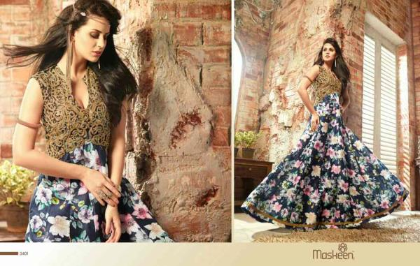 An elegant way to look traditionally #Indian  Volver Fashion's collection of glamours prints and fashion fabrics with elegant border and sheer enhanced work!  The combination of designer ideas makes this collection extra ordinary & #fashionable!  For further inquiries kindly contact on 886684589  #NewArrival #TrendingFashion #FashionThatMatters #LatestFashion