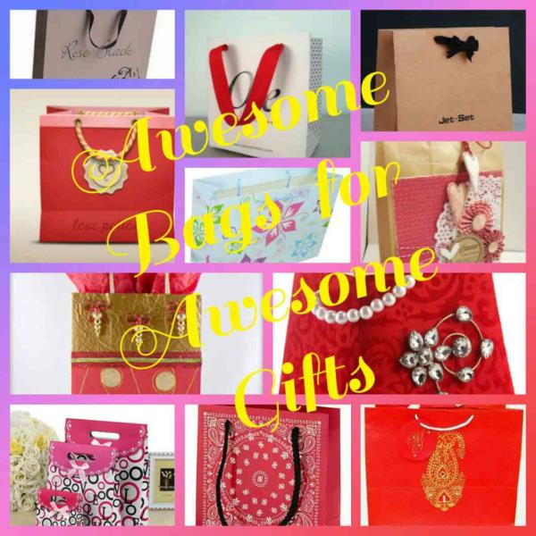 Its the time for celebrations as the season of marriages came you gift your beloved one with one of the best gift and we help you in carrying that by providing a customized gift bag, customized return gift carry bag from small jewellery bags, return gift bag to large paper bag for sarees.