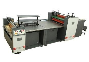 Manufacturer Of Hard Case Maker In Mumbai   Model-EXCELLA  https://youtu.be/BDN2cTJYz0o  Hard case Maker Economic High quality Multi-use Hard Case Binding Machine: Hard case Maker Machine Model-EXCELLA. High quality Multi-use Hard Case Binding Machine: Experienced engineers, dedicated team, Innovative design and heavy duty construction makes sure of consistent high quality PLC based multi product Hard Case Binding machine. This Modular tucking-in cum Double BRUSH TURNING unit machine is suitable for book binders, printers and bulk stationery manufacturers like Box file Mfrs., Notebook Mfrs., and Diary Mfrs. etc. EXCELLA model is also designed for variety of case binding jobs, as demanded by the market. EXCELLA-Unique Modular Binding system. The Binding system provides the facility for Four Side fold in Pneumatic system or Four Side fold in brush turning unit or Two side fold in Pneumatic system and two side fold in brush turning unit. Only calendaring shall be possible by setting on single direction mode. Reliable and Proven Gluing system: 40 Inch long Stainless Steel glue rollers are used for proper constant bottom glue application. The machine has high speed paper feeding system & two operator gluing units. Operator shall operate the machine without touching the glue and this shall protect the case from dust accumulation. Cartridge type glue tank with separate hot water tank is provided. Precise control of paper releasing tension blades for proper paper release and high speed run helps in avoiding the paper stuck / roll in the glue rollers. This is the maximum high speed paper feed system of this kind in the market at present. High-Tech Pneumatic-Tucking-In System: The high speed pneumatic system requires tucking for 2 sides. The remaining 2 sides are automatically completed by the brush turning unit. Pneumatic turning system is made automatic (No Pedal operating system). Programmable Pneumatic turning-in system has the facility to vary the timing according to the