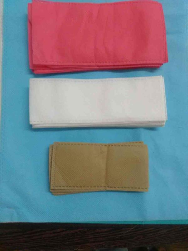 hardware packing bag, packaging non woven bag, bathroom accessories non woven bag, hardware packing pouch bag supplier and manufacture in rajkot Gujarat India