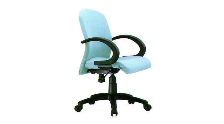 Office Chair Manufacturer. We Accurate Seating Systems manufacturing of all type office chair Workstation Chair:Model: Flexi medium back revolving chair with push back mechanism, fixed pp arm rest, nylon base and gas lift. - by ACCURATE SEATING SYSTEMS, Bangalore