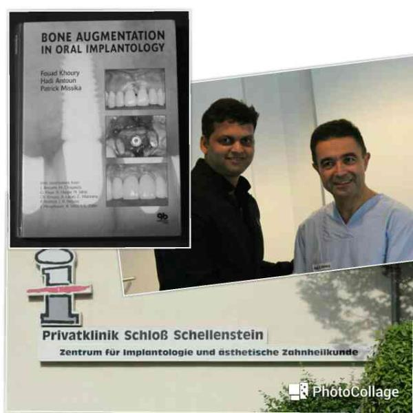 Learnt the fine art of IMPLANTOLOGY & BONE GRAFTING from the master himself Dr Fouaad Khoury in Germany