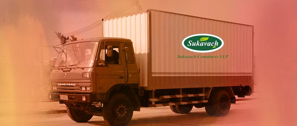 Searching for Refrigerated Vans For Food Transportation we Sukavach are the manufacturer and installer of Cold Rooms in Vans for refrigeration.  - by Sukavach Containers LLP, Ahmedabad