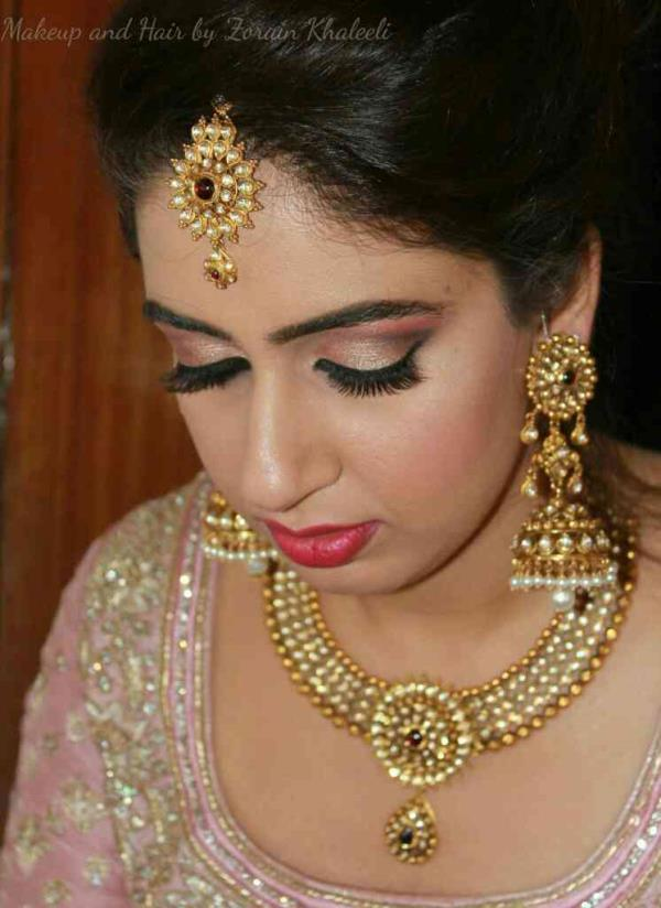 Learn Bridal Makeup in Bangalore at Zorains Studio  Visit www.zorainsstudio.com for course details.  Call Zorains Studio on 9900032855 for registrations. Next batch Jan 2017