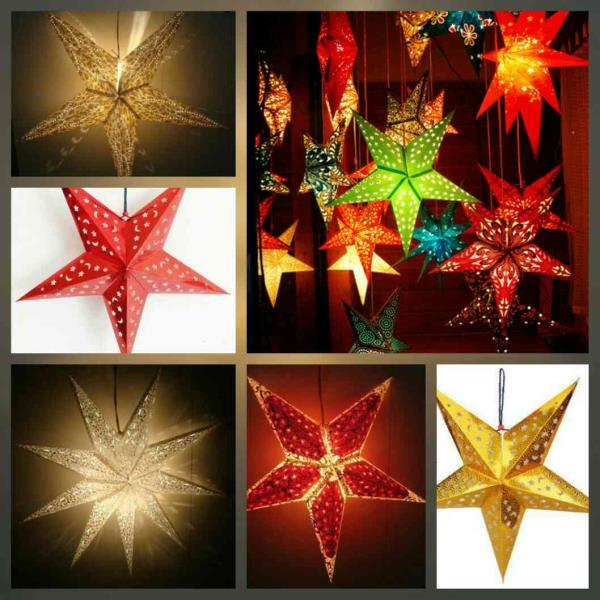 A bright Christmas star shining its light for the whole world to see, when a star in the sky guided wise men below  to a small town stable where a gift from above was born on that night to bring the world love. Call us on 040 4261 1777 for Best handmade stars, designer paper bags n gift bags. Visit us on www.bagsnbags.co.in  Merry Christmas in advance