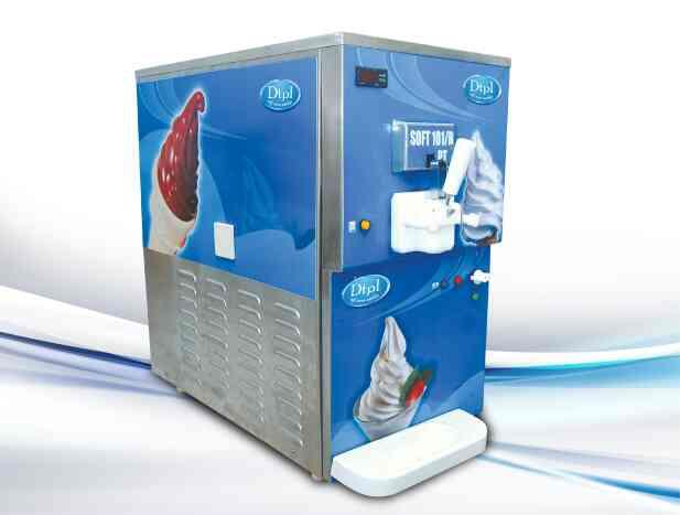 We are manufacturer,  supplier ND exporter of Softy ice-cream machine across India