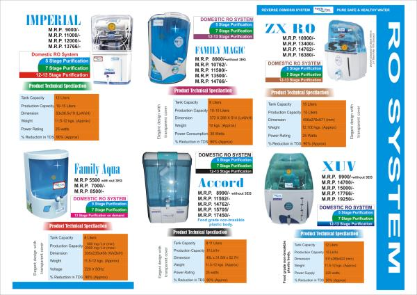 choose your water purifier and give your phone number to get the discount  and 4 free sevices - by earth water technology, new delhi