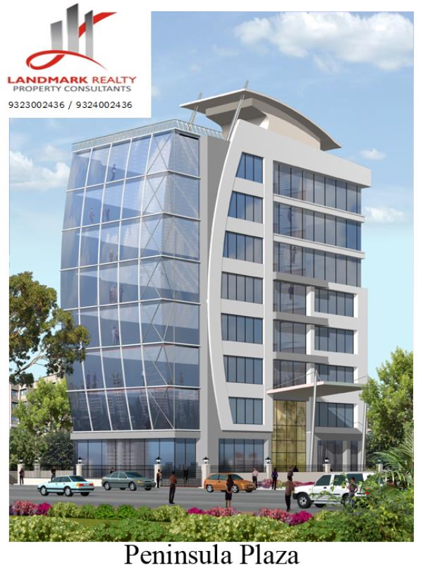 Glass Façade Building, Located At A Very Good Location Of Vijay Nagar Flyover, Marol, Midc, Andheri East, Warm Shell, Unfurnished, Self Contained. Ideal For Back Office.   836 SBU [492 Usable Crpt]: 65 K Negotiable.   - by LANDMARK REALTY, Mumbai Suburban
