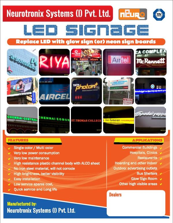 LED Signage Manufacturer In Chennai We are the best LED Signage Manufacturer In Chennai we are provide the best quality in best price.