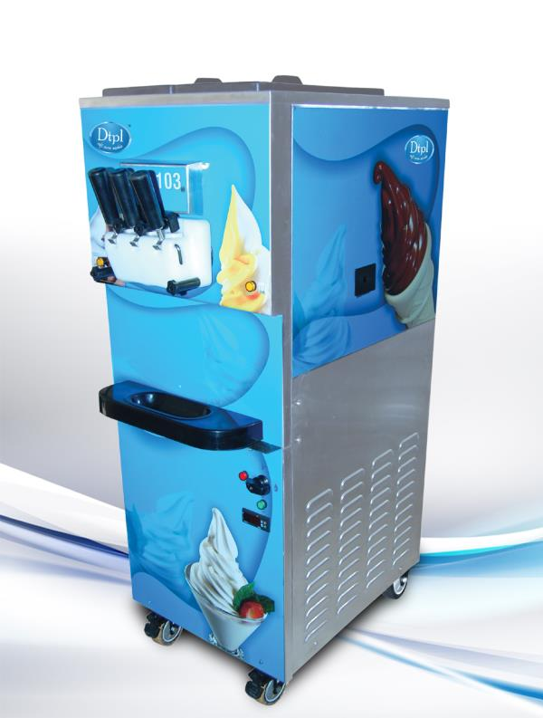 SOFTY ICE CREAM MACHINE  We are the manufacturer of Softy Ice Cream Machine in Ahmedabad, Gujarat, India.  We also manufacturer of ice cream process machinery with wide range.  Please contact us on info@dtplsoftservemachine.com or call us on + 91 85 110 21552