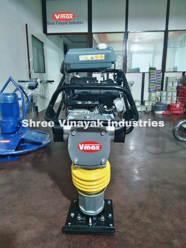 Shree vinayak Industries is  largest supplier and importer of Earth Rammer in India.We made Tamping Rammer, Earth Rammer, Tamping Earth rammer, Vibratory earth rammer etc.The Earth Rammer offered by us is widely used for soil crushing.We are supplying Tamping rammer in Honda petrol engine.We sell Tamping rammer in Ahmedabad, Earth ramme in Mumbai, Tamping Rammer in Pune, Maharashtra, Lucknow, Delhi, Surat, Punjab, Chandigarh, Bhopaletc.