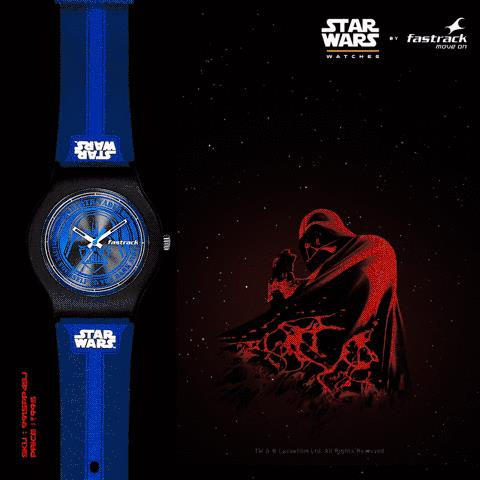 Let your side guide you to victory. Put on this Darth Vader inspired watch from the #FastrackInfinitees collection. Find it on fastrack.in/starwars. #MoveOn - by Fastrack Store - Jayanagar, Bangalore, Bangalore