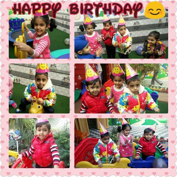 On your special day, I wish you good luck. I hope this wonderful day will fill up your heart with joy and blessings. Happy Birthday  Arshi, Devyansh and Hardik. - by Smile Playway Creating Smiles, Ludhiana
