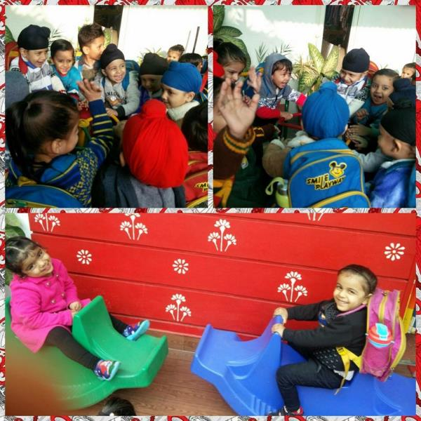 Happiness is......... seeing your kids Happy 😊 - by Smile Playway Creating Smiles, Ludhiana