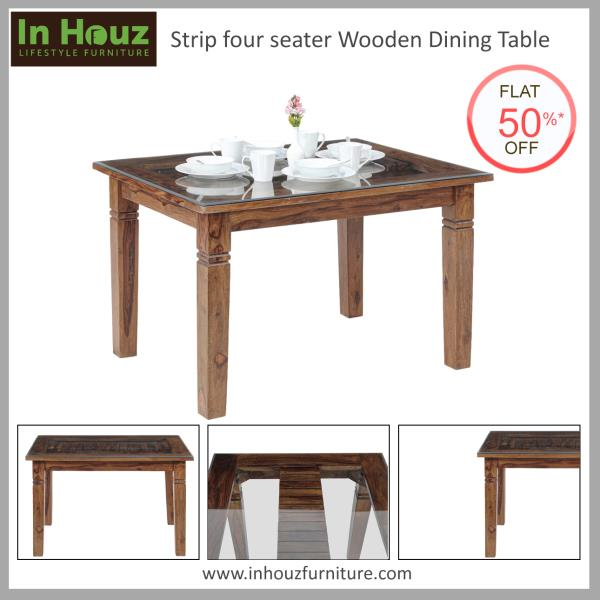 With a gorgeous finish and simple design, this Four-Seater Dining Table is a perfect fit for all homes.  #DiningTable #OnlineDiningTables #SheeshamWoodDiningTable  #OnlineFurnitureSale #DiningRoomFurniture #FourSeaterDiningTable #DiningSetDesign #BestFurnitureWebsitesInIndia #Inhouz #InhouzFurniture #BuyFurnitureOnlineInDelhi  Shop now at www.inhouzfurniture.com