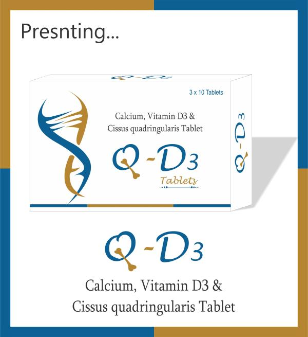 Zeon Biotech is The manufacturer of Calcium, Vitamin D3 & Cissus Quadringularis Tablets in Ahmedabad.  For details and inquiry Drop your message below